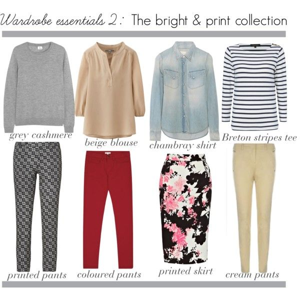 Bright wardrobe essentials