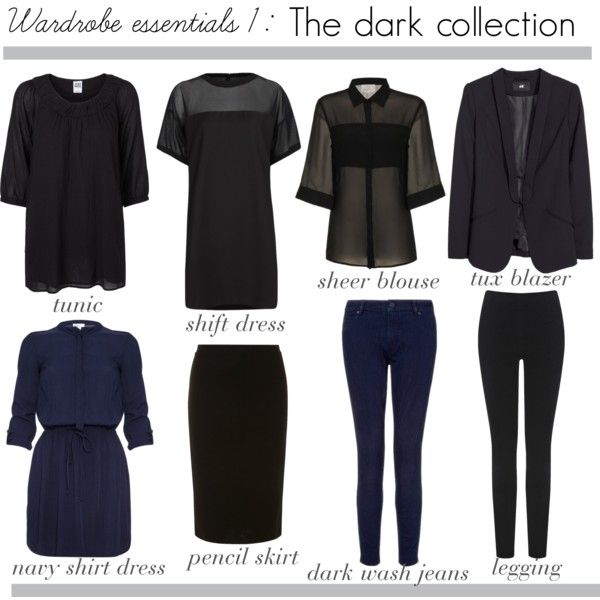 Dark wardrobe essential