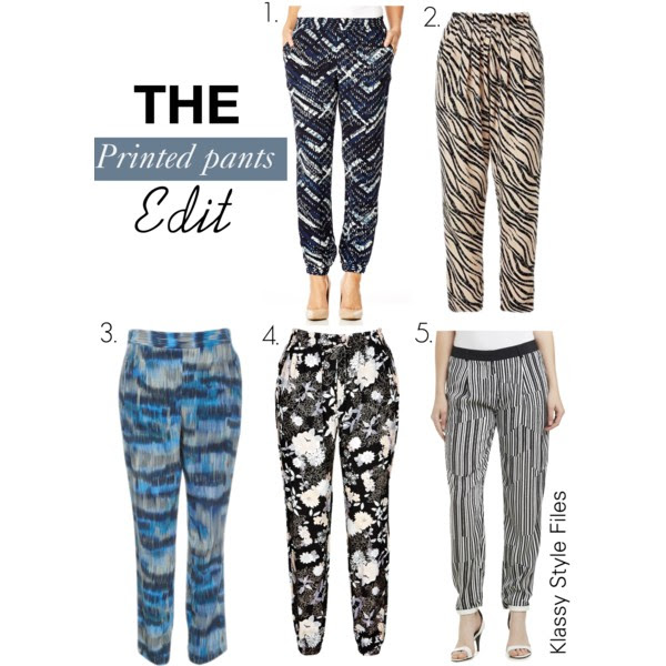 printed pants edit