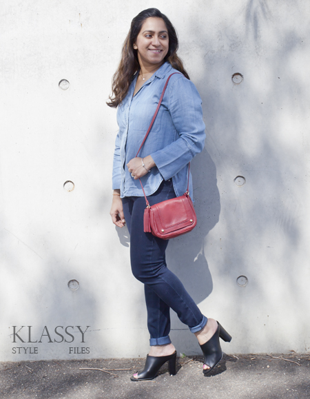Kmart chambray shirt1