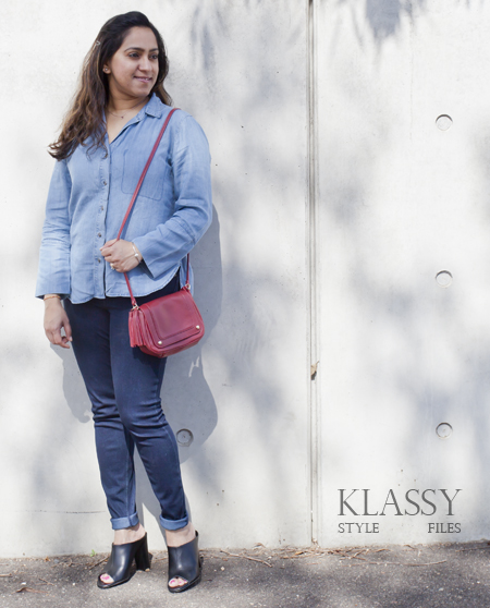 Kmart chambray shirt2