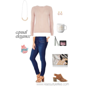 blush sweater long weekend